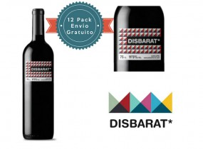 DISBARAT Pack Mixto 12 Botellas